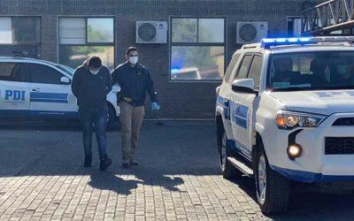 Rancagua: PDI detuvo al presunto autor de un homicidio ocurrido en sector oriente