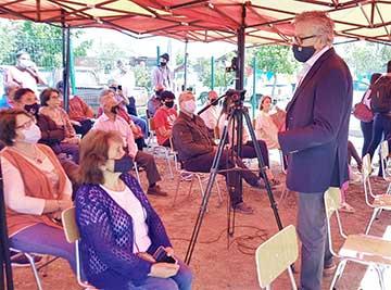 Vecinos reciben su nueva sede comunitaria en villa Don Alberto