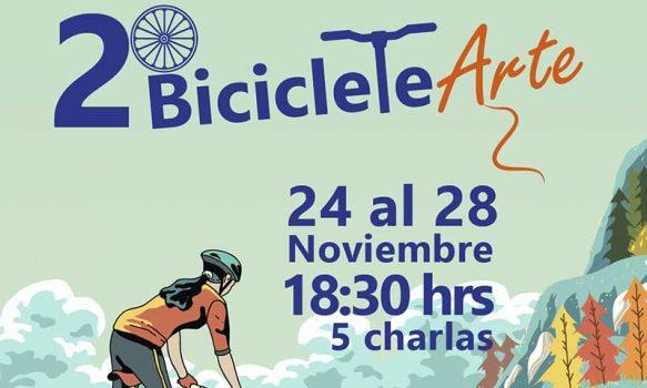 Región de O'Higgins: Festival BicicleteArte vive su segunda versión
