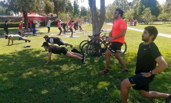 Regresa el deporte y la actividad física a los parques públicos