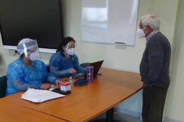 Rengo: Cesfam oriente realiza un nuevo operativo de toma de muestras PCR