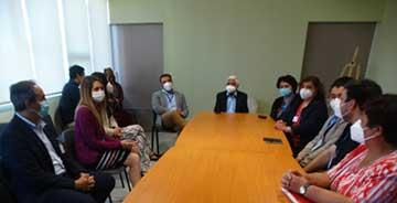 Rengo: Directora servicio salud visita Cesfam Oriente