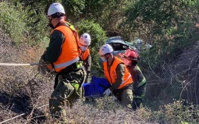 Requínoa: Accidente de tránsito ruta del ácido cobra una víctima