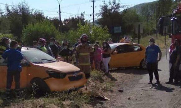 Requínoa: Accidente vehicular en El Abra