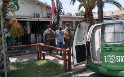 Carabineros detuvieron a tres sujetos que robaron especies de vehículo en servicentro