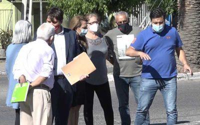 Rosario: Autoridades de Rengo se reúnen con la comunidad