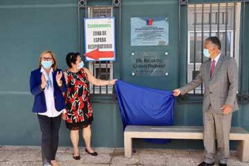 San Vicente: Intendenta Cofré junto a autoridades comunales y de Salud inauguraron nuevo SAR