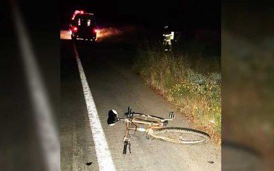 Santa Cruz: Accidente de tránsito con resultado de muerte a ciclista