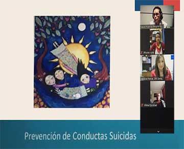 Sename O'Higgins convocó a equipos de residencias de protección para capacitarlos en temáticas de salud mental