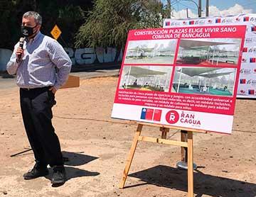 Autoridades anuncian la primera Plaza Elige Vivir Sano del país