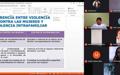 Centro de la Mujer de Rengo aborda la violencia con organizaciones sociales