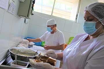 Conoce la labor de la Central de Alimentación del Hospital San Fernando