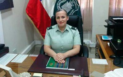 Coronel Helen Leal González asume como nueva directora(s) regional de Gendarmería O'Higgins