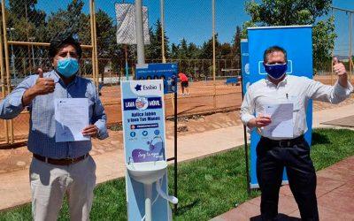 Essbio pone a disposición lavamanos portátiles para ayudar a combatir el COVID-19