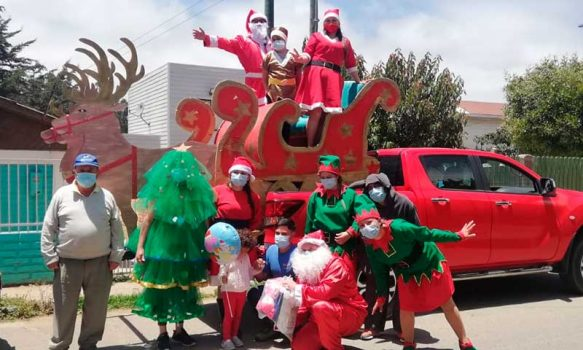 Hospital Pichilemu celebró Navidad a hijos de funcionarios