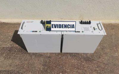 La Estrella: PDI detiene a sujeto que ofertaba baterías de litio robadas