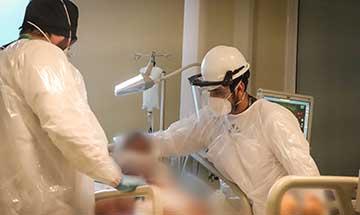 Pacientes COVID-19 acceden a terapias de rehabilitación en el HRR