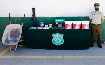 Pichilemu: Carabineros detuvieron a sujeto por dos robos