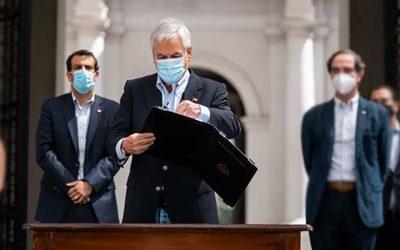Presidente Piñera firmó proyecto de ley contra el crimen organizado