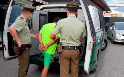 Rancagua: Carabineros detuvo a sujeto por Femicidio Frustrado
