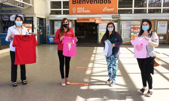 Región de O'Higgins: Supermercados Cugat realiza donación a residencia de protección colaboradora del Sename