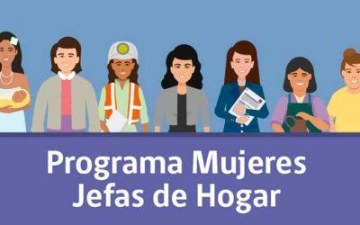 130 cupos para postular al programa mujeres jefas de hogar 2021