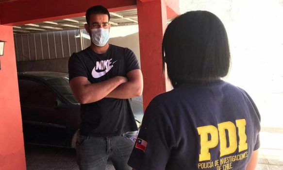 San Fernando: PDI efectúa fiscalizaciones a hostales de la comuna