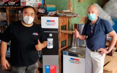 Sercotec hace entrega de kits de desinfección para fortalecer sectores comerciales del país