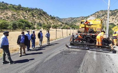 """Seremi MOP O'Higgins: """"Al pavimentar caminos rurales se avanza en desarrollo social y se potencia el desarrollo productivo"""""""