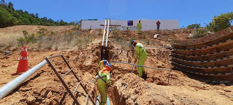 Seremi MOP O'Higgins en visita a Lolol indica que es la comuna con mayor inversión en sistemas de Agua Potable Rural