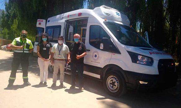 Coltauco cuenta con nueva Ambulancia para el traslado de pacientes