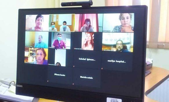 De forma virtual director del Hospital de Rengo sostuvo reunión con el Comité Comunal de Salud