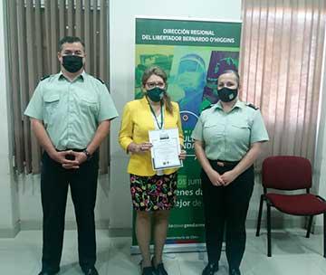 """Directora regional  se reunió con los ganadores del  concurso """"El orgullo de ser gendarme"""""""