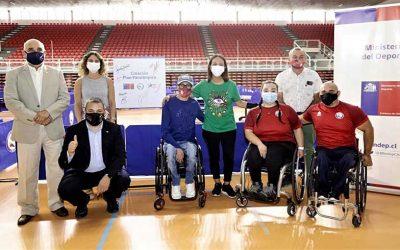 El nuevo Plan Paralímpico potenciará la gestión, desarrollo y logros deportivos del Team ParaChile