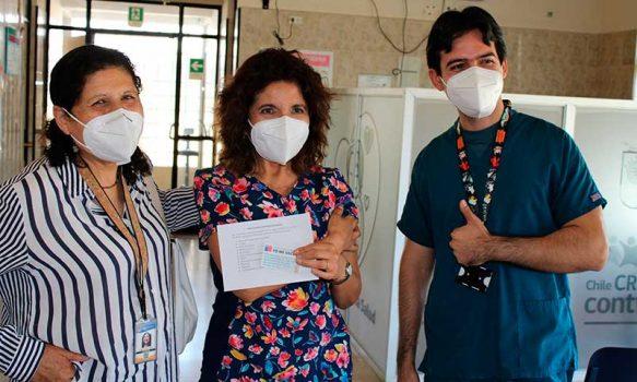 En Palmilla se inició vacunación de funcionarios de salud contra COVID-19