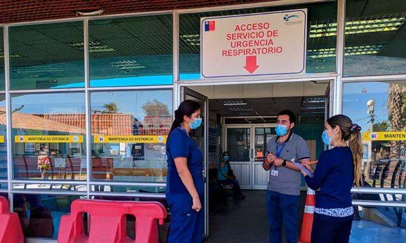Hospital de Rengo: reforzando medidas de prevención ante el COVID-19