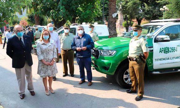 Intendenta entregó nuevas patrullas para reforzar la labor de Carabineros en la región