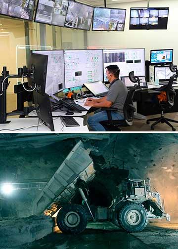 La automatización y el manejo a distancia se imponen en los proyectos de El Teniente