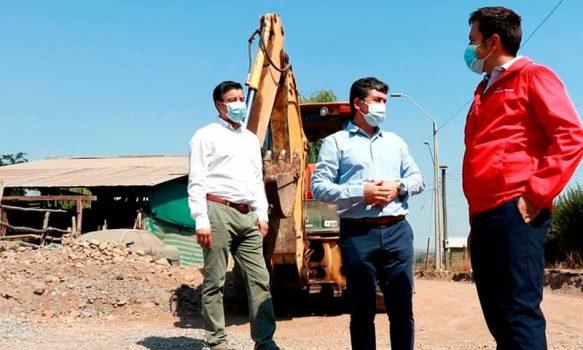 Minvu invierte más de 40 mil millones de pesos en obras urbanas en O'Higgins