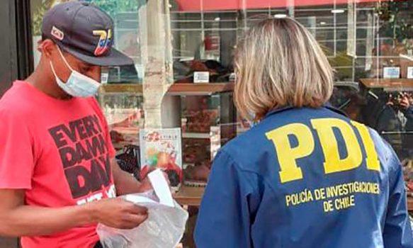 PDI de San Fernando denunció a ocho extranjeros por mantener situación migratoria irregular