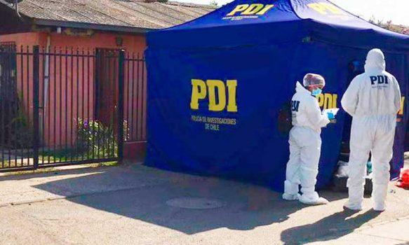 PDI investiga homicidio de en sector oriente de Rancagua