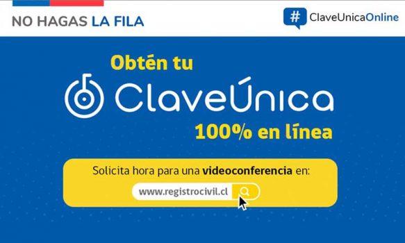 Registro Civil entrega ClaveÚnica en línea