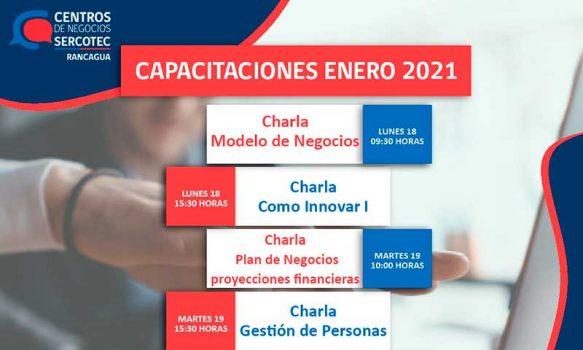 Sercotec Rancagua: Atractiva oferta de capacitación para emprendedores y mipymes