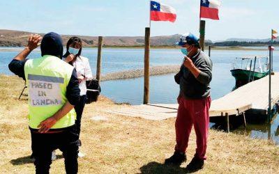 Sernatur junto con Capitanía de Puerto y Municipio de Navidad realizan operativo educativo