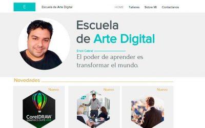 Universitarios lanzan una Escuela Arte de Digital, online y gratuita
