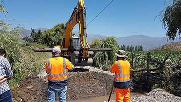 Vecinos de San Ramón dan inicio de obras de pavimentación de calle que unirá el sector con Punta de Cortés