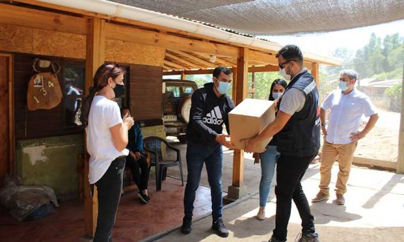 """Agrosuper y """"movidos por chile"""" apoyan a familias afectadas por aluvión"""