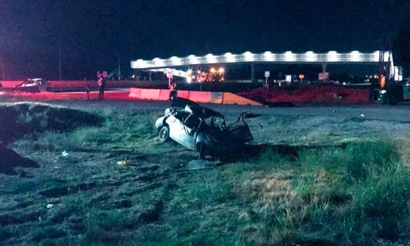 Codegua: Dos personas fallecidas en accidente de tránsito durante la madrugada de este martes