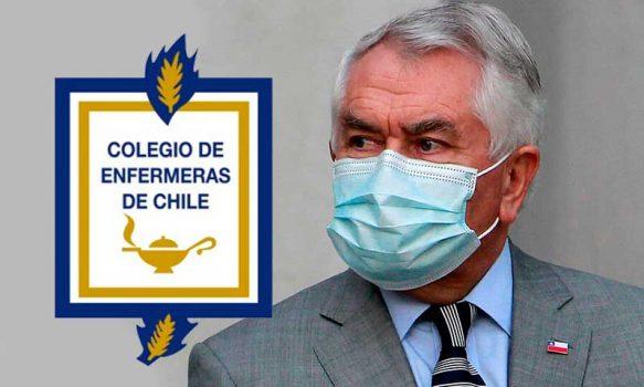 Colegio de Enfermeras carta abierta al Ministro de Salud