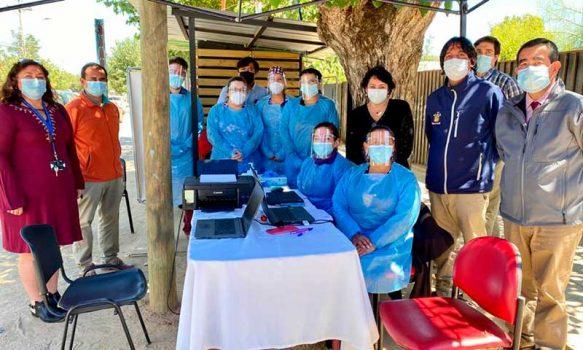 Directora de Servicio de Salud O´Higgins realiza intenso trabajo en terreno en comuna de Lolol